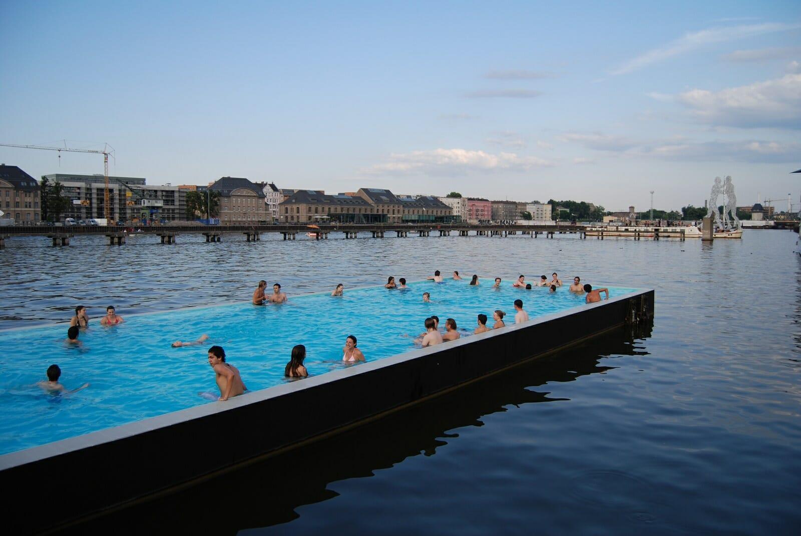 Badeschiff Berlijn