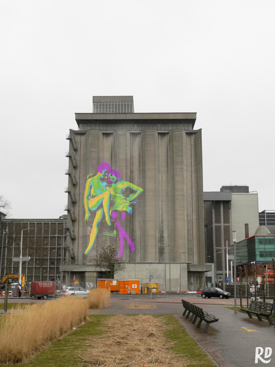 8 plekken in Rotterdam die schreeuwen om street art