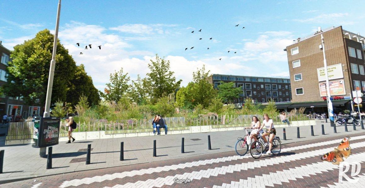 Vijf plekken voor een tiny forest in Rotterdam