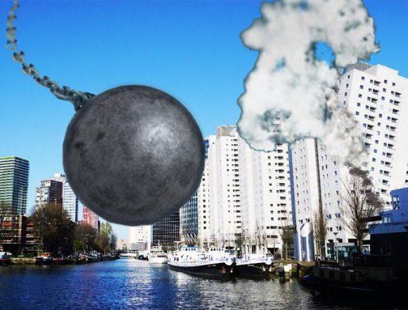 De Sloopkogel Award 2019: welk gebouw mag plat in Rotterdam?
