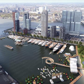 Mega transformatie maakt van Rijnhaven internationale toplocatie
