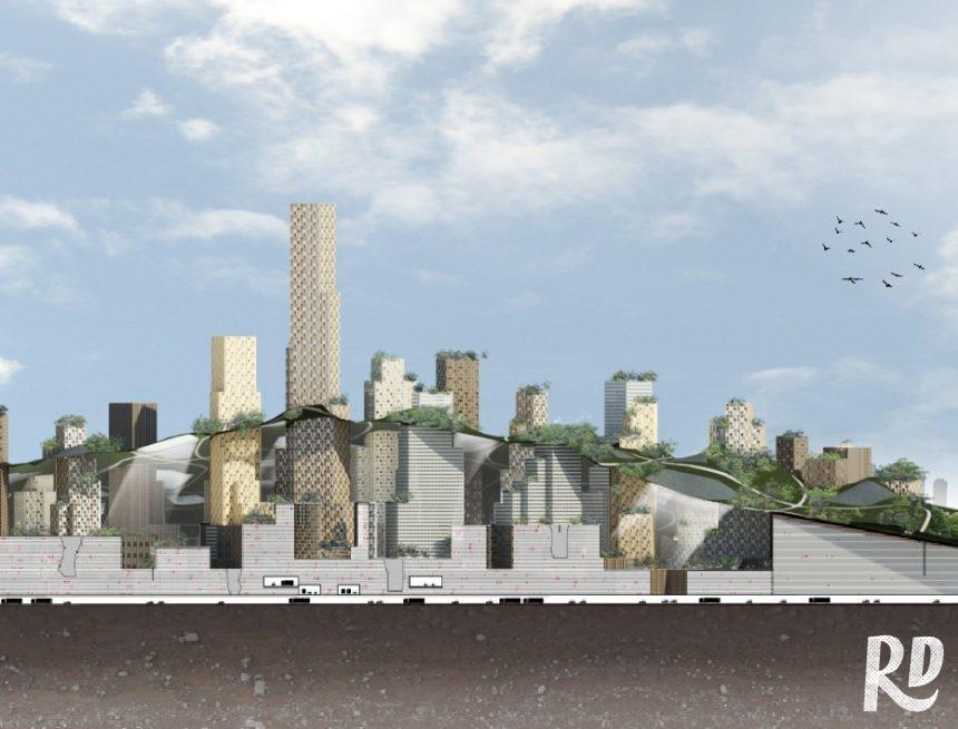 Zo krijgt de Rotterdamse Berg een vederlichte constructie